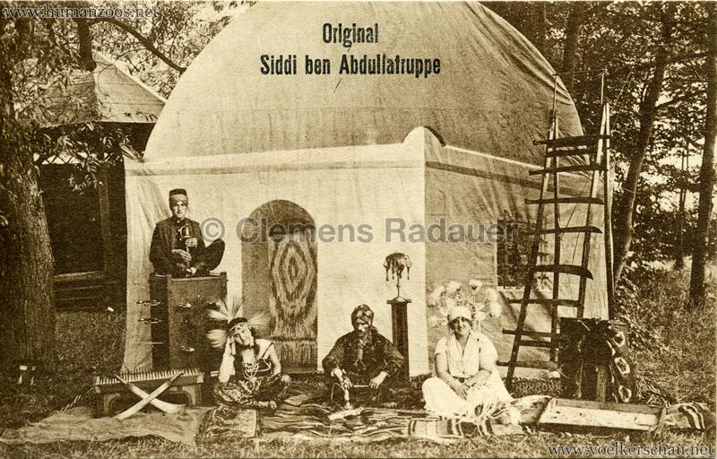 Original Siddi ben Abdullatruppe
