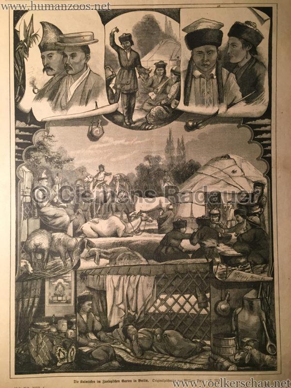 1883.09.17 Der Bazar - Die Kalmücken im Zoologischen Garten in Berlin