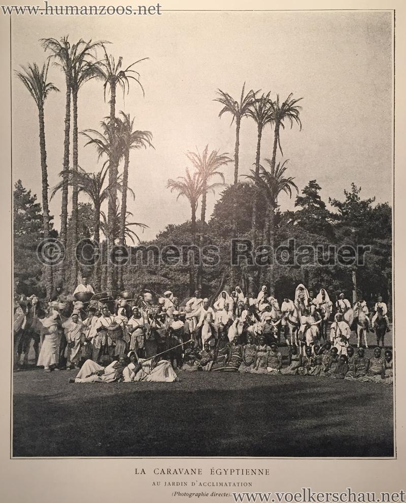 1891 la caravane gyptienne au jardin d acclimatation for Au jardin d acclimatation