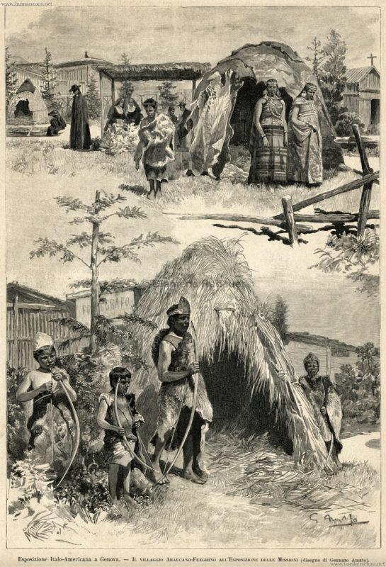 1892-esposizione-italo-americano-genova-villaggio-araucano-fueghino