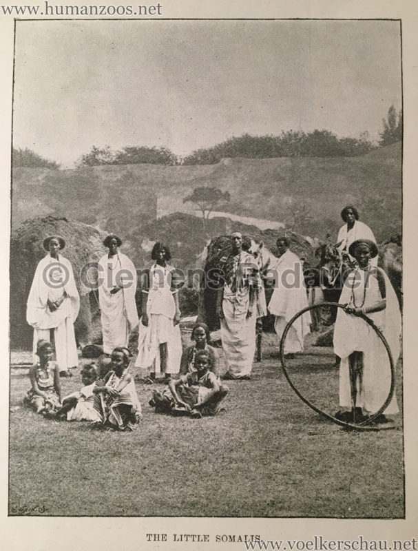 1895.06.19 The Sketch S. 422 - The Somalis at the Crystal Palace D2