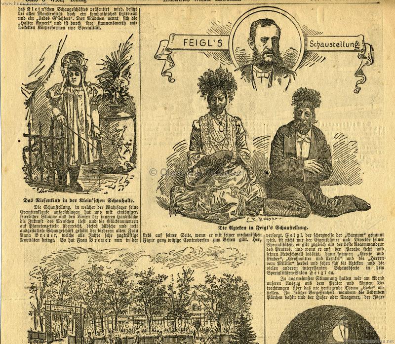 1897.06 Illustrirtes Wiener Extrablatt - Feigl's Schaustellung 3