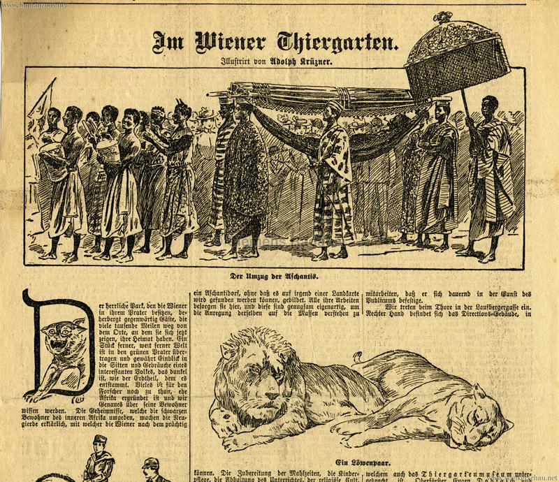 1897.06.13 (?) Umzug der Aschanti 1