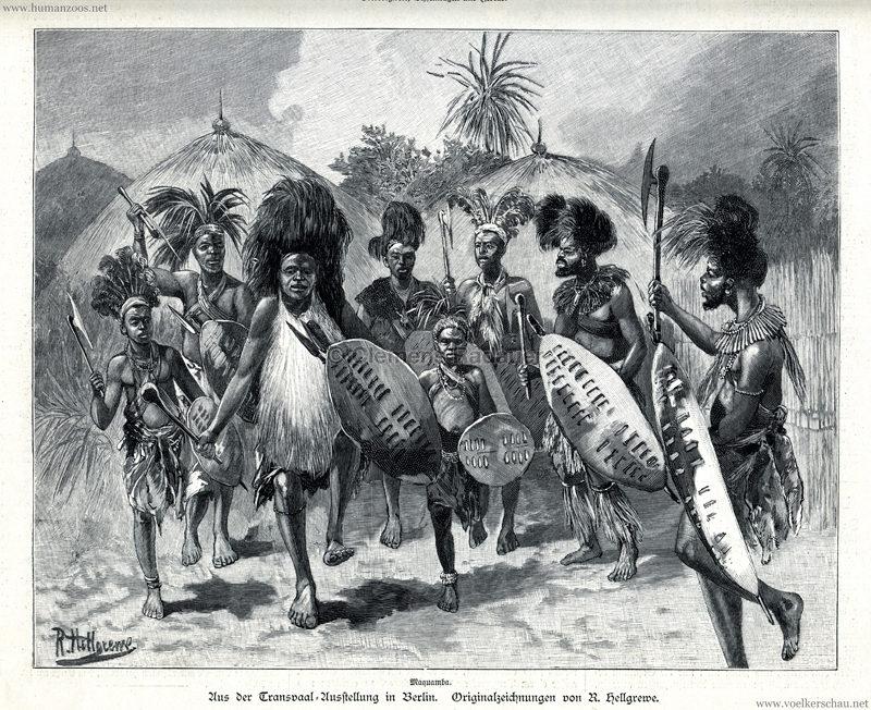 1897.07.22 Illustrirte Zeitung No 2821 - Aus der Transvaal-Ausstellung in Berlin 2