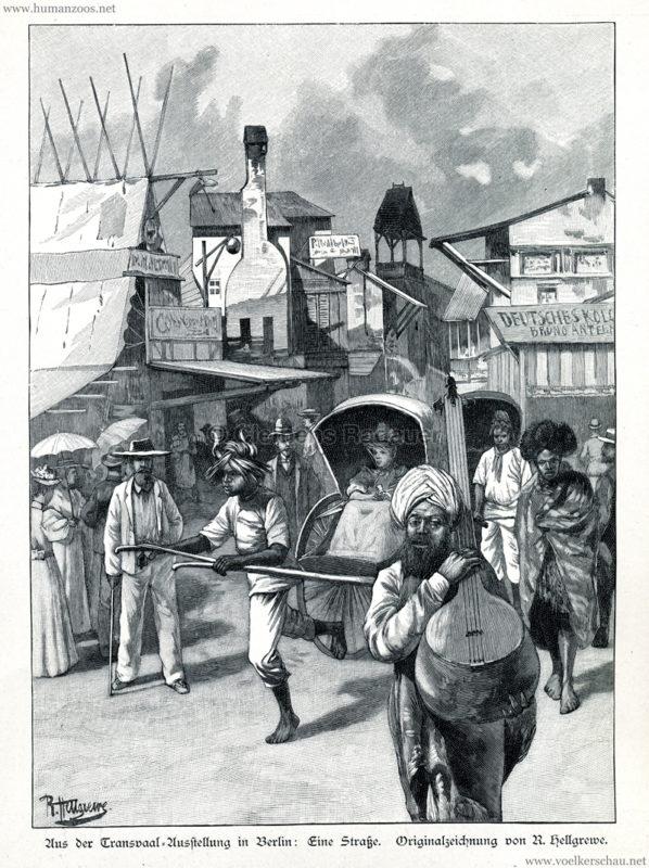 1897.07.22 Illustrirte Zeitung No 2821 - Aus der Transvaal-Ausstellung in Berlin 3