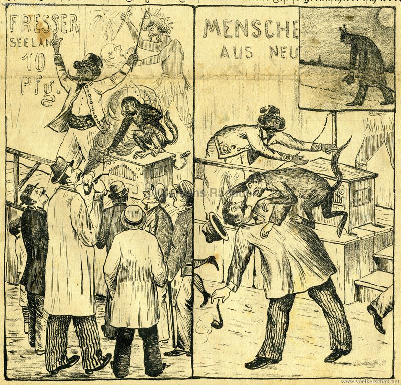 1898.10.06 Das Elsaß - Menschenfresser aus Neuseeland