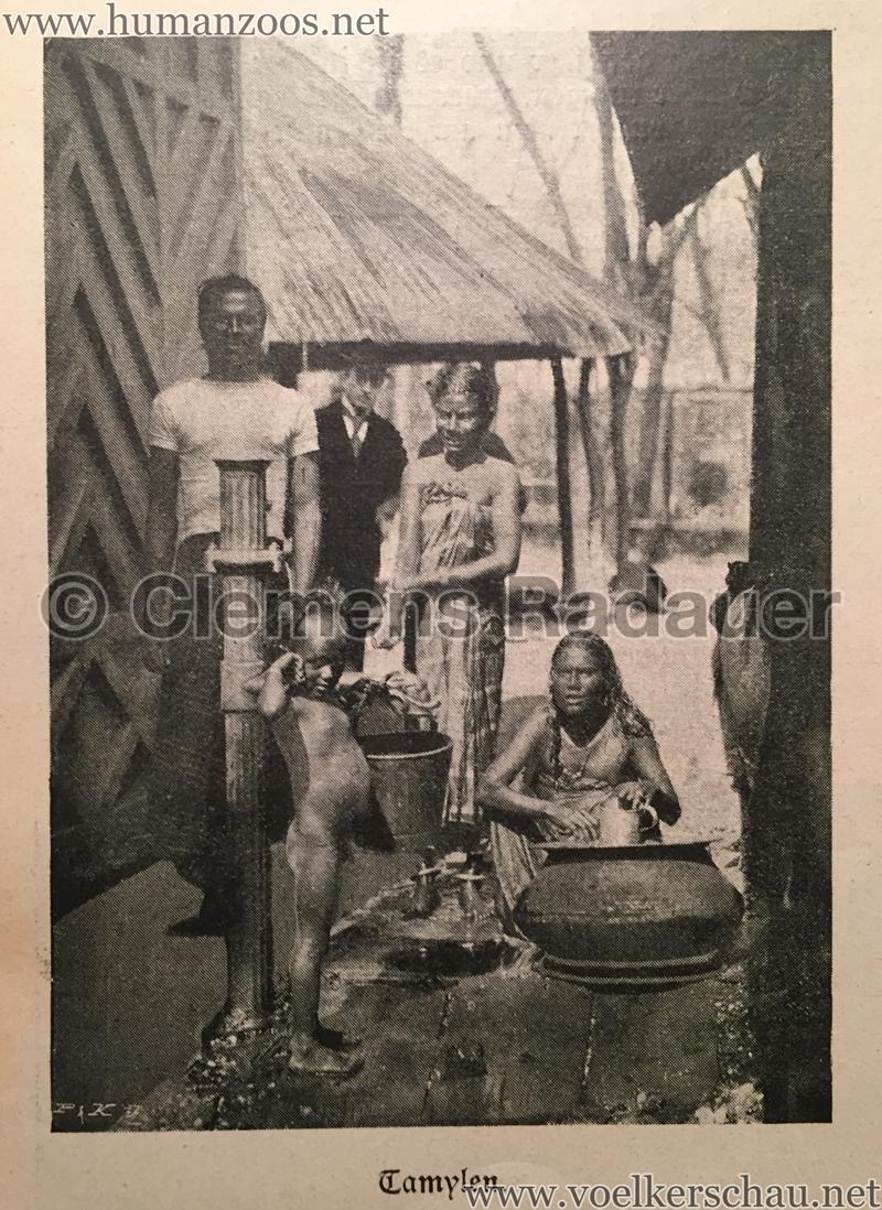 1899 Österreichische Illustrierte Zeitung Nr 22 - Siamesisches Dorf im WIener Thiergarten 2
