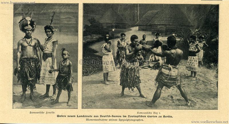 1900 Berliner Leben - Unsere Neuen Landsleute aus Samoa in Berlin