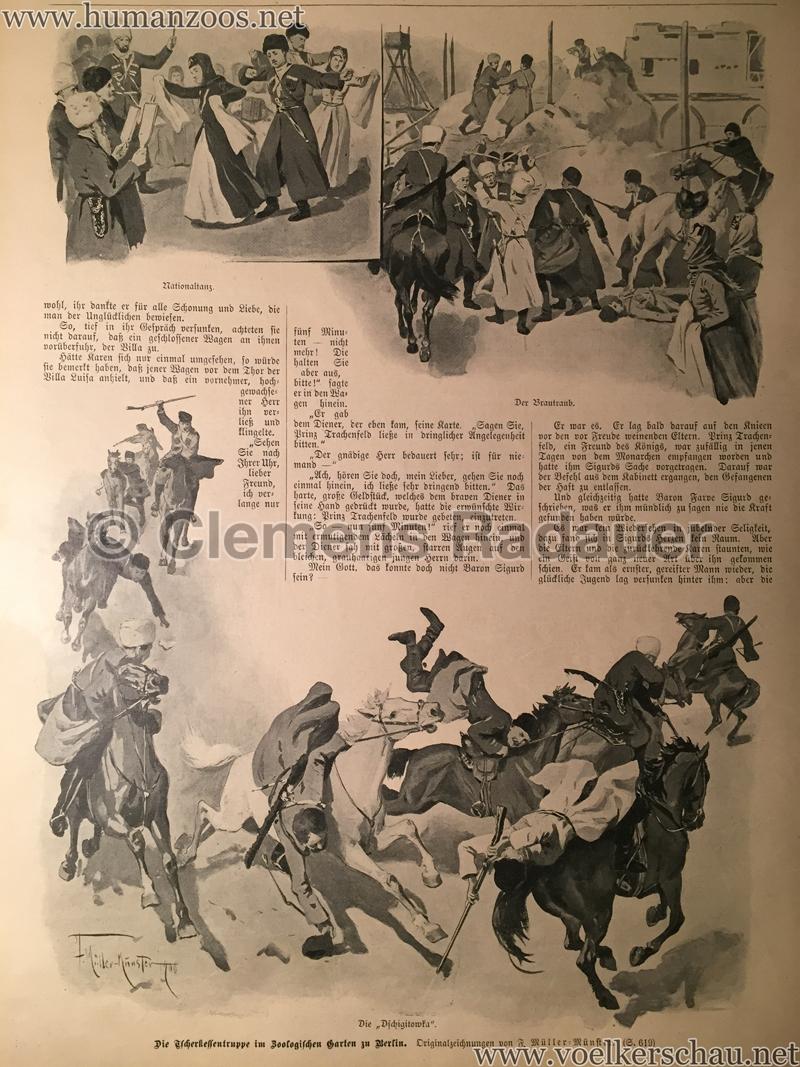 1900 - Das Buch für Alle - Heft 26 - Tscherkessentruppe im Zoo Berlin
