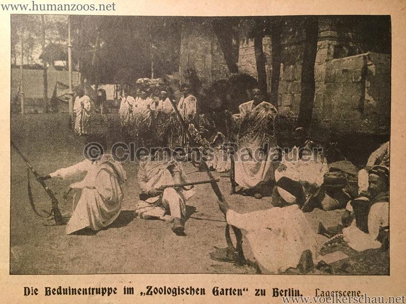 1901.06.02 Berliner Illustrirte Zeitung - Beduinen in Berlin D1