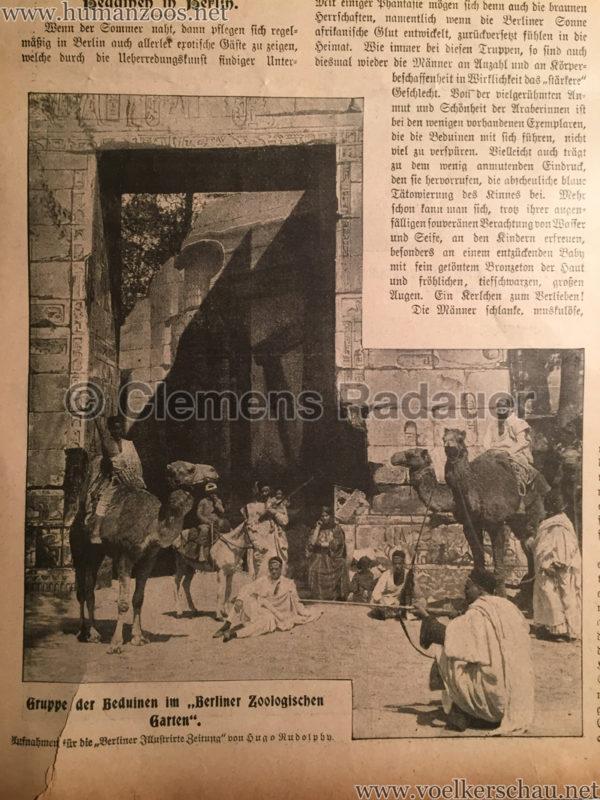 1901.06.02 Berliner Illustrirte Zeitung - Beduinen in Berlin D2