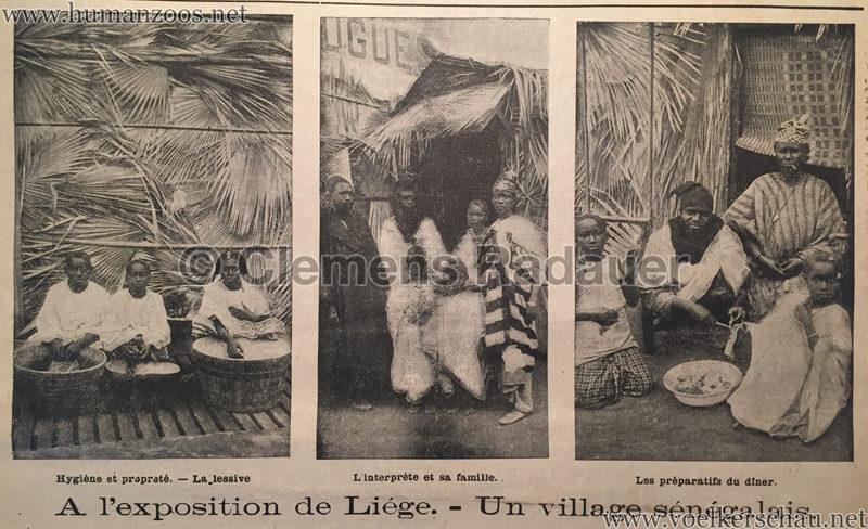 1905.06.11 Le National Illustré - Village Sénégalais à l'Exposition de Liége D1