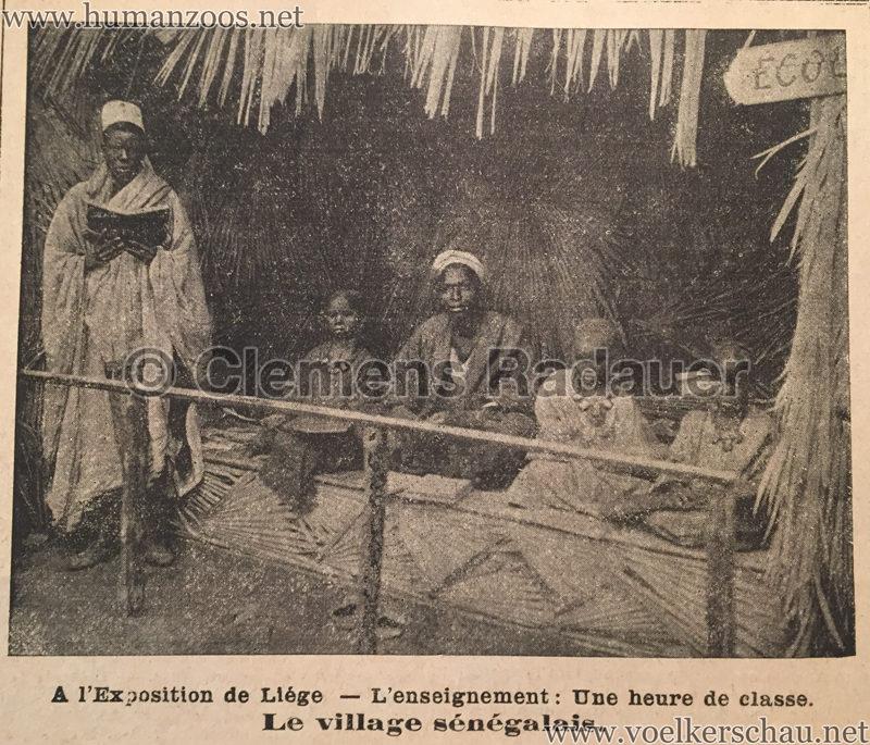 1905.06.11 Le National Illustré - Village Sénégalais à l'Exposition de Liége D2