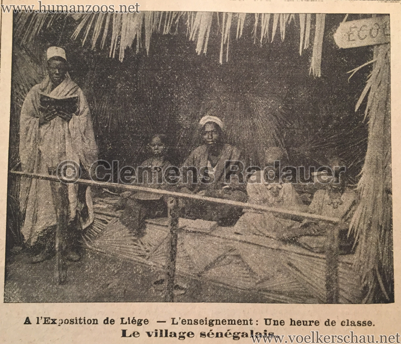1905.06.11 Le National Illustré - Village Sénégalais à l'Exposition de Liége D2