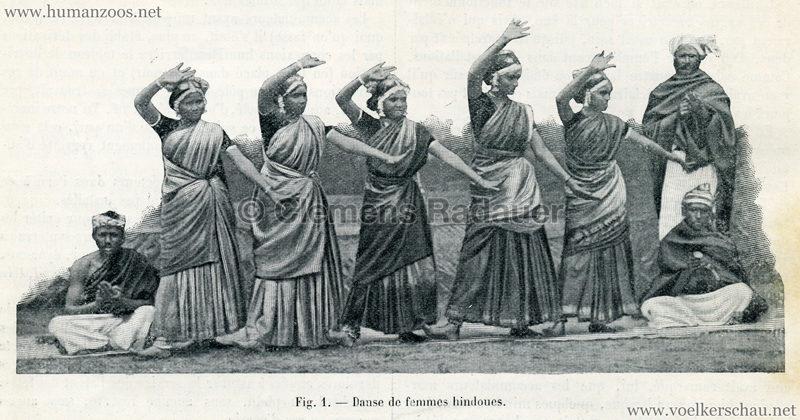 1906.09.01 La Nature - Une caravane hindoue au Jardin d'Acclimatation Fig.1