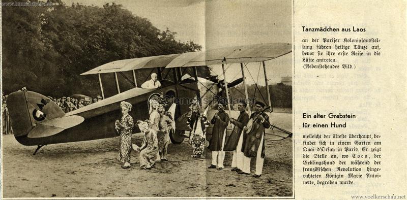1931 (?) Exposition Coloniale Paris - Tanzmädchen Laos
