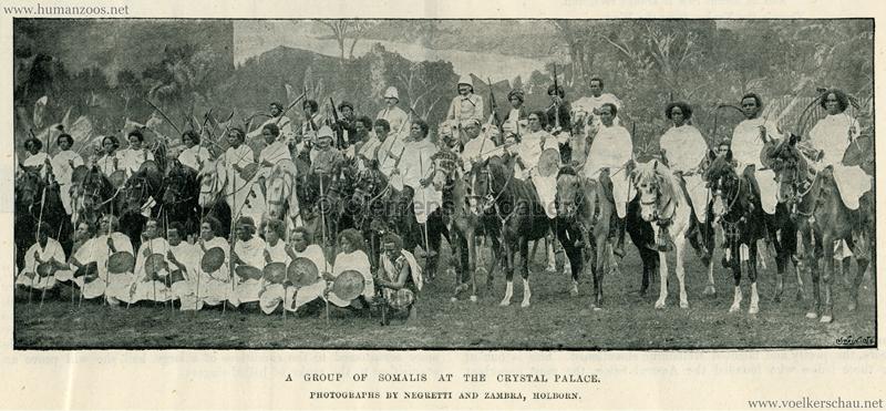 A Group of Somalis at the Crystal Palace