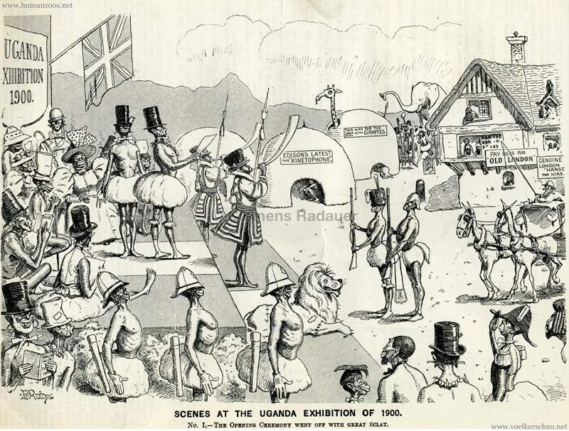 Scenes at the Uganda Exhibition of 1900