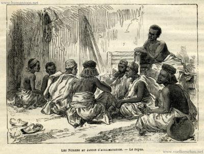 1877.09.16 Journal des Voyages - Les Nubiens au Jardin d'Acclimatation