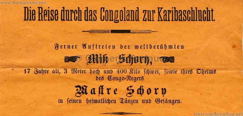 1886 K. k. Prater - Gemälde-Serien Detail