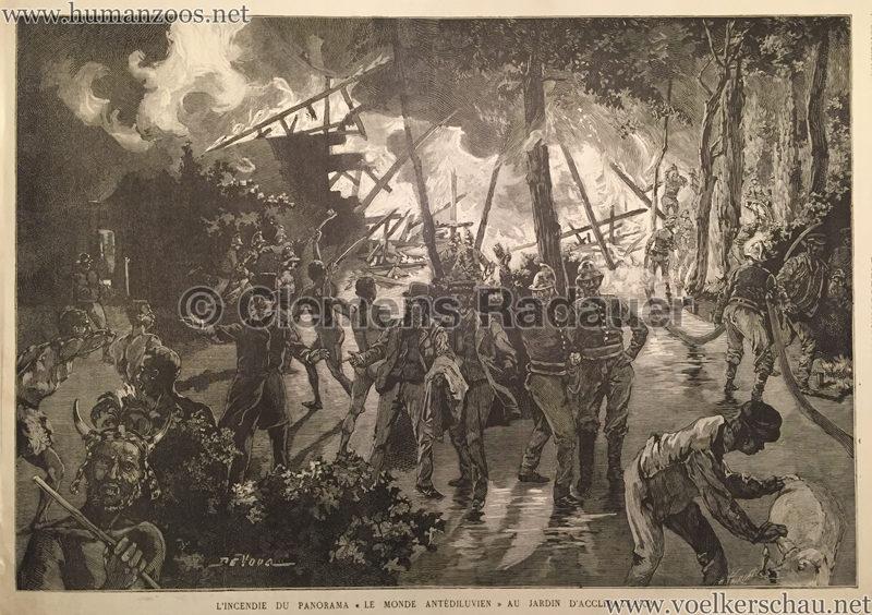 1887.10.01 L'Illustration N. 2327 - L'incendie du Panorama