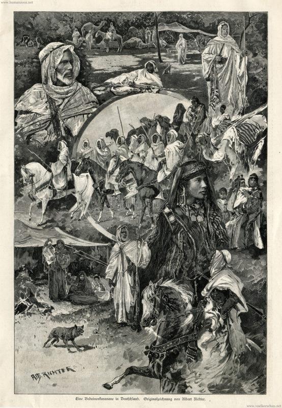 1888-07-07-illustrirte-zeitung-eine-beduinenkaravane-in-deutschland