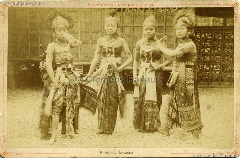1889 Exposition Universelle Paris - Kampong Javanais 3