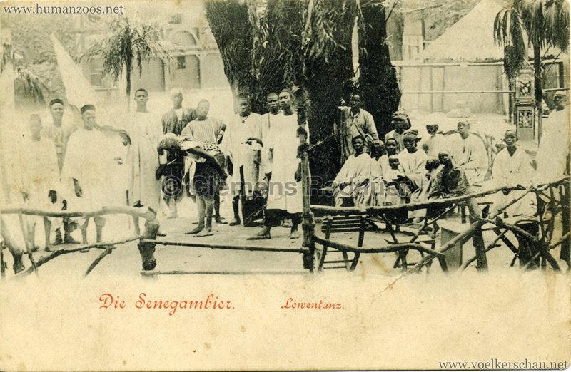 1899 Die Senegambier - Löwentanz
