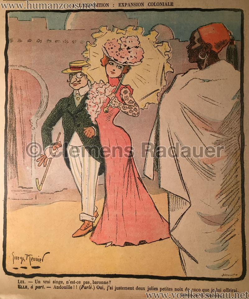 1900.05.19 Le Rire - A l'Exposition Coloniale