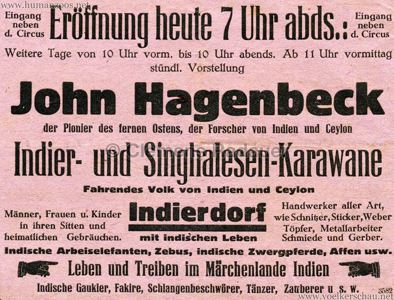 1930 Circus Busch - John Hagenbeck Indier- und Singhalesen-Karawane Detail