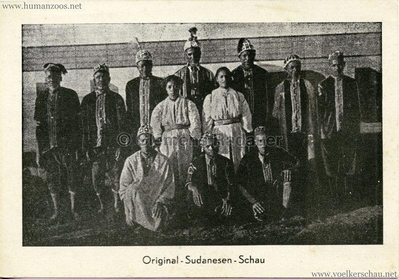 1935 Original-Sudanesen-Schau (Zirkus Busch) VS