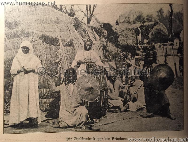 Die Musikantentruppe der Beduinen