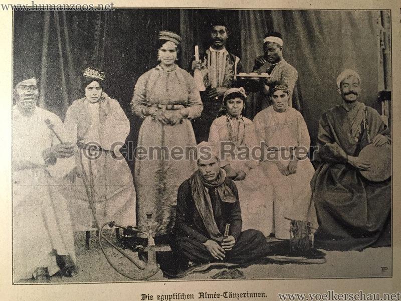 Die egyptischen Almee-Tänzerinnen