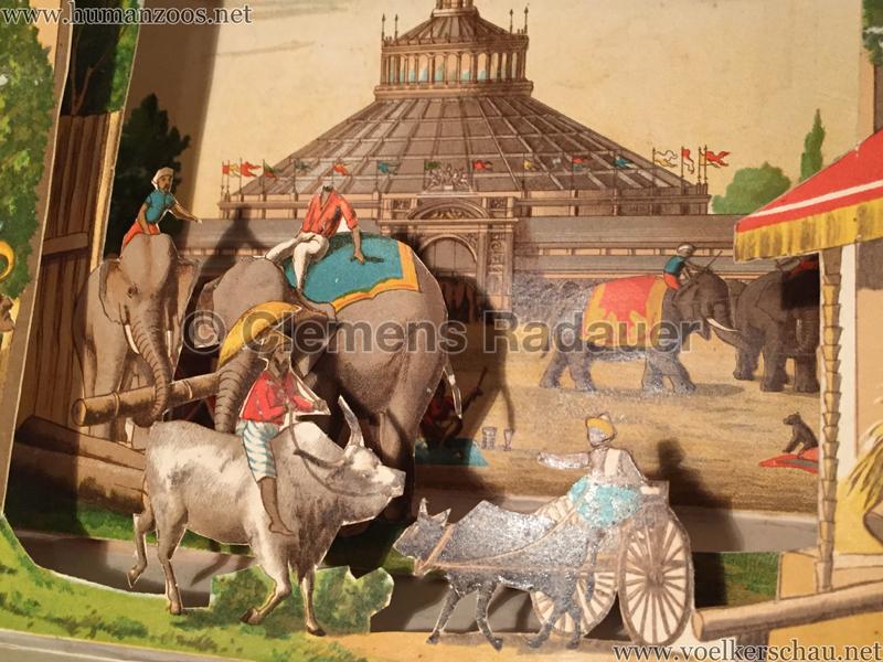 Singhalesen und Sudanesen - Szenische Bilder aus fernen Landen - 1888 Th. v. Pichler D1