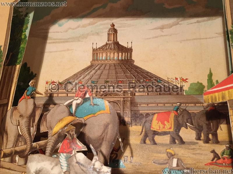 Singhalesen und Sudanesen - Szenische Bilder aus fernen Landen - 1888 Th. v. Pichler D2