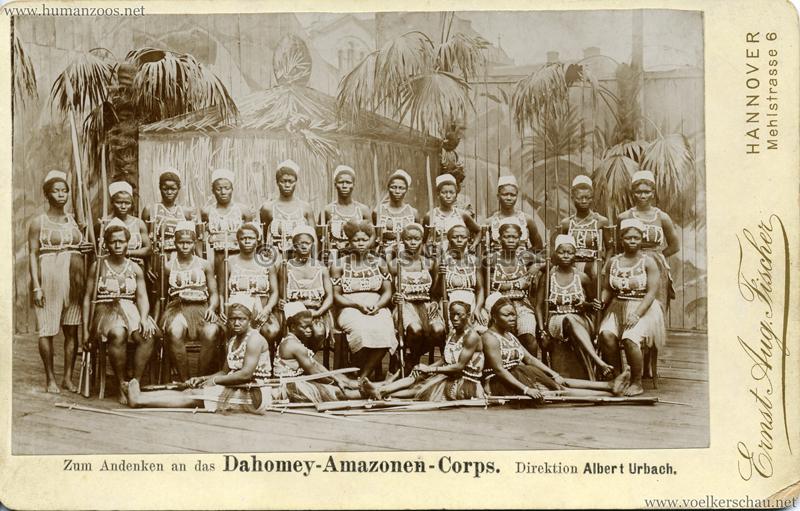 Zum Andenken an das Dahomey-Amazonen-Corps 2