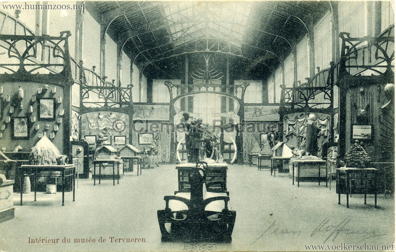 1898 Tervuren Musee Colonial - Interieur du Musée de Tervueren 1