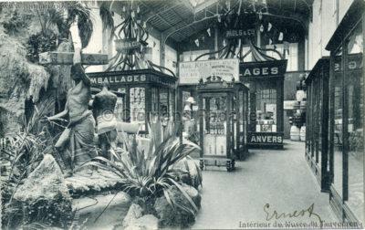 1898 Tervuren Musee Colonial - Interieur du Musée de Tervueren 2