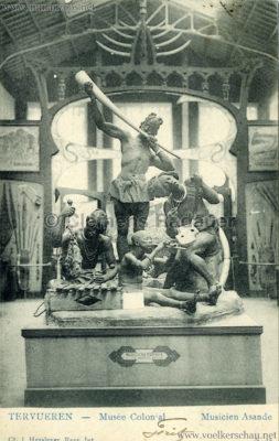 1898 Tervuren Musee Colonial - Musicien Asande
