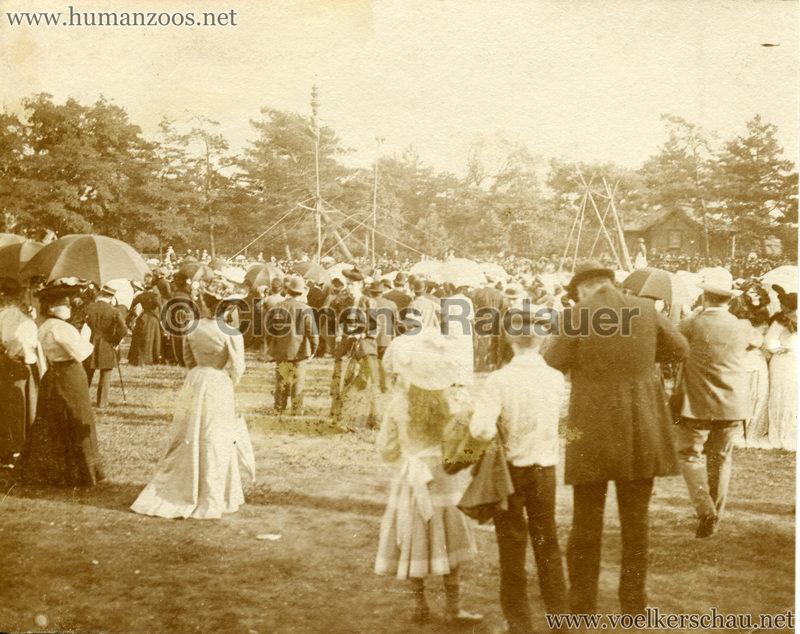 1902 Jardin Zoologique d'Acclimatation - Les Malabares - FOTO 1