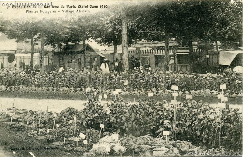 1910 Exposition de la Banlieue de Paris (Saint-Ouen) - Village Africain