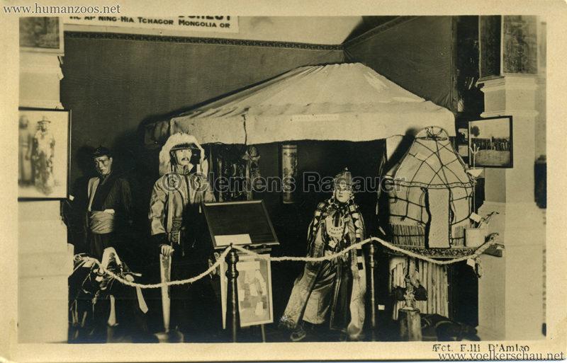 800. Una tenda mongola