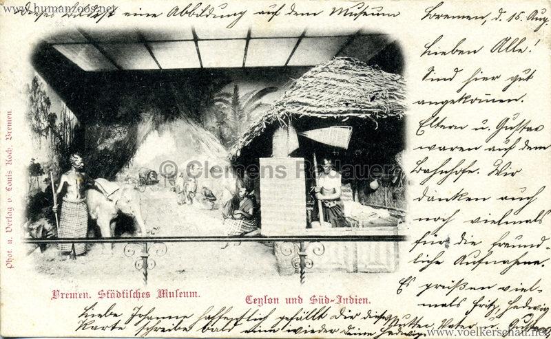 Bremen Städtisches Museum - Ceylon und Süd-Indien