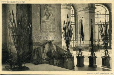 Plaque commémorative des fontionnaires de la Colonie