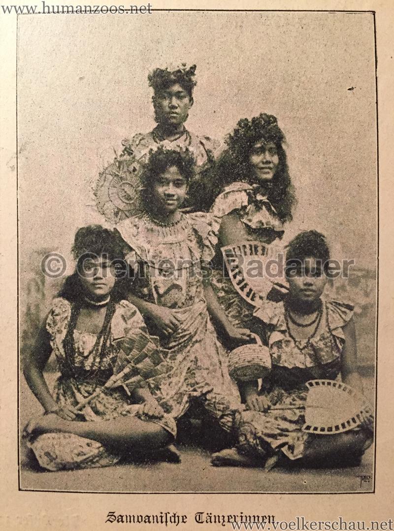 Samoanische Tänzerinnen