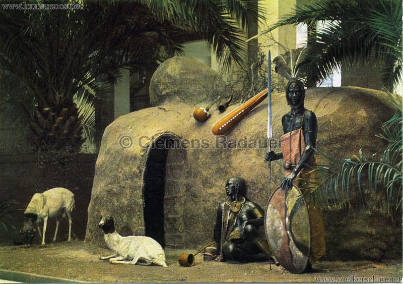 Übersee-Museum Bremen, Hütte der Massai