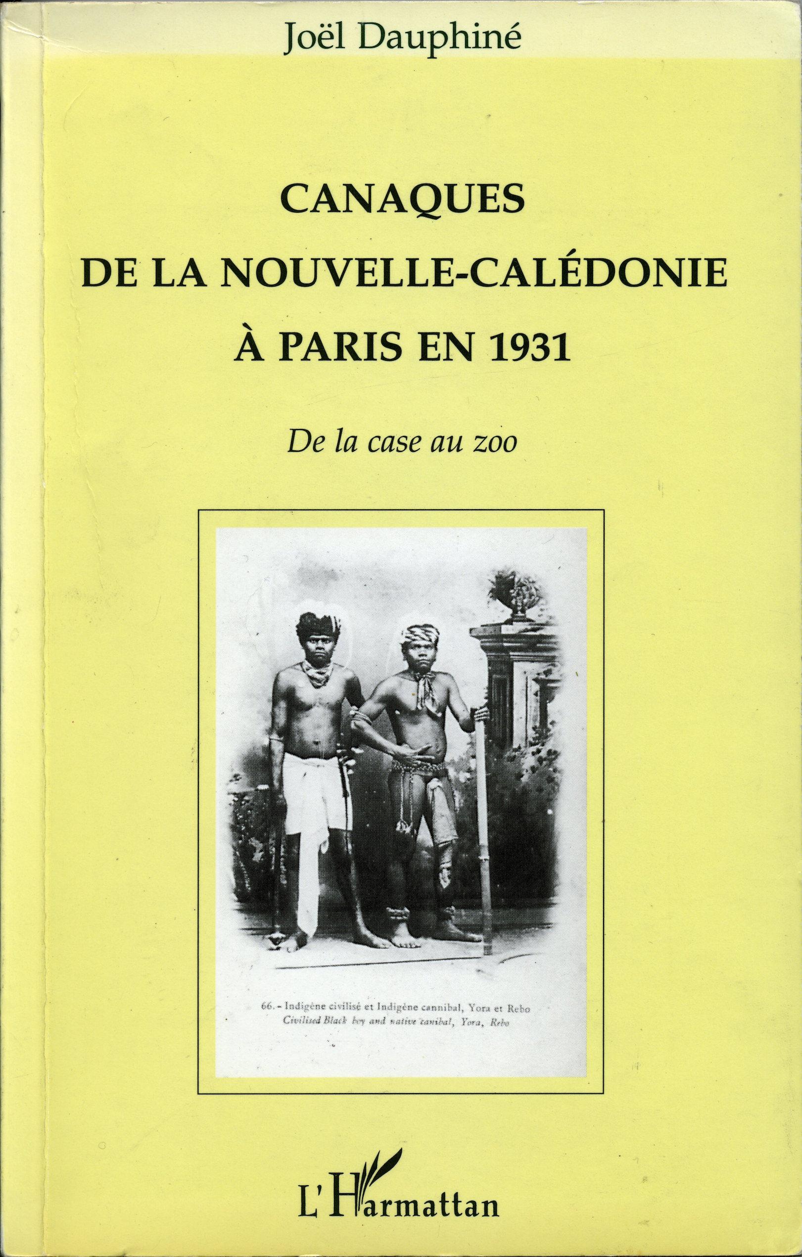 Canaques de la Nouvelle-Caledonie a Paris en 1931