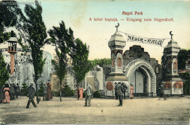 1912 Angol Park - Eingang zum Negerdorf col 2