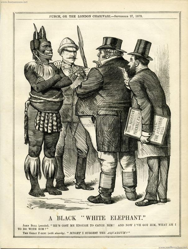 1879.09.27. Punch - Farini's Zulus