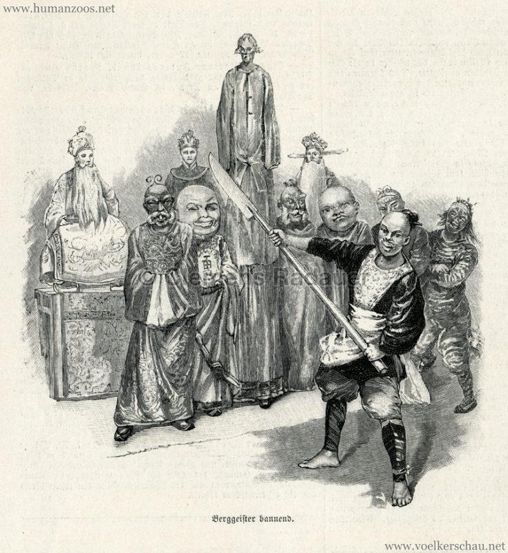 1894.10.20 Illustrirte Zeitung Nr. 2677 S. 445 - Das chinesische Theater in Berlin 2
